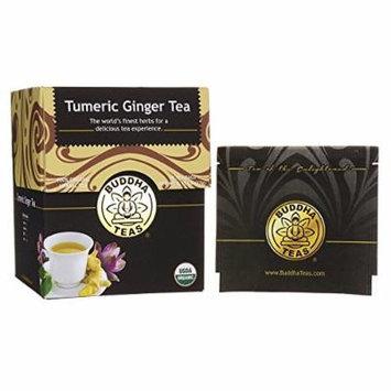 Turmeric Ginger Tea - Organic Herbs - 18 Bleach Free Tea Bags