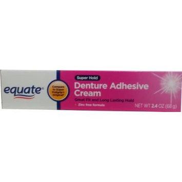 Equate Super Hold Denture Adhesive Cream Compare to Super Poligrip Original