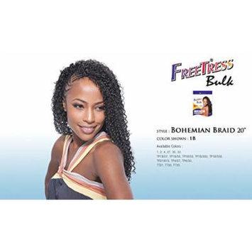BOHEMIAN BRAID 20'' - Shake N Go FreeTress Bulk Braiding Synthetic Weave Extension #1B/27