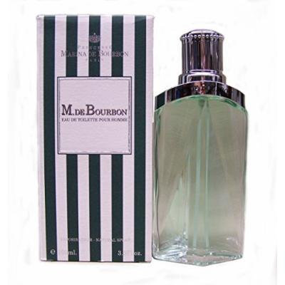 M.de Bourbon Eau De Toilette Pour Homme By Marina De Bourbon 3.3oz/100ml.spray