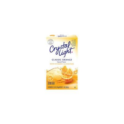 Crystal Light On The Go Sunrise Classic Orange Sugar Free Drink Mix, 10ct(Case of 2)