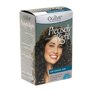 Ogilvie Precisely Right Salon Conditioning Perm, for Hard to Wave Hair (3 Pack)