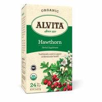 Alvita Teas Organic Herbal Tea Bags - Hawthorn Berry - 24 Bags ( 6 BOXES)