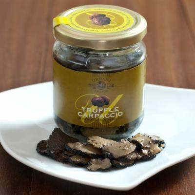Truffle Carpaccio in Olive Oil - 1 x 6.4 oz glass jar