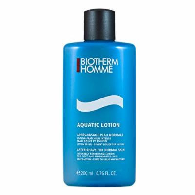 Biotherm Homme Aquatic After Shave Lotion (Normal Skin) for Men, 6.76 Ounce