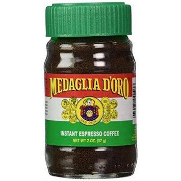 Medaglia D' Oro Instant Espresso Coffee, 2-Ounce Jar