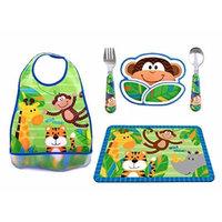 Stephen Jospeh Monkey Complete Meal Time Set