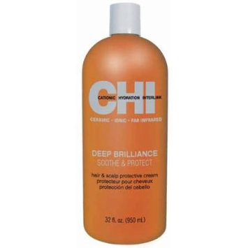 CHI Deep Brilliance Soothe and Protect Cream, 2.05 lb.