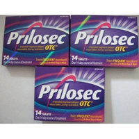 Prilosec OTC Acid Reducer, Delayed-release Tablets 3 Boxes 42 Tablets