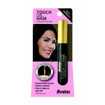 Avatar Touch Ur Hair Root Coloring Wand #7203 Ash Brown, Hair applicator, easy to use, resists moisture, no water, women, touch up stick, instant color