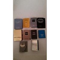Lot of 10 Cologne & Perfume Travel Size YSL Dolice&gabbana Bvlgari Alien Clean Versace Escada 10 Different Scents