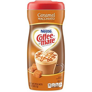 Coffee-mate Cafe Collection Caramel Macchiato, 15 Ounce (Pack of 6)