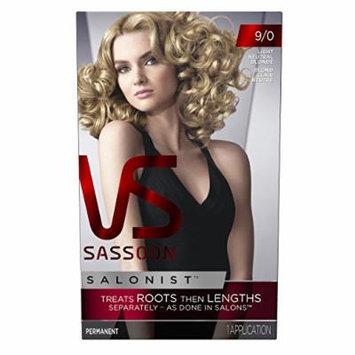 Vidal Sassoon Salonist Hair Colour Permanent Color Kit, 9/0 Light Neutral Blonde