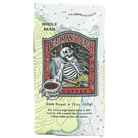 Raven's Brew Whole Bean Deadman's Reach,Dark Roast 12-Ounce Bags (Pack of 1)
