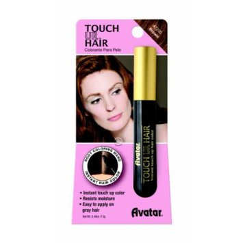 Avatar Touch Ur Hair Root Coloring Wand #7205 Brown, Hair applicator, easy to use, resists moisture, no water, women, touch up stick, instant color