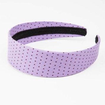 Peppercorn Kids Polka-dot Headband (Light Lavender)