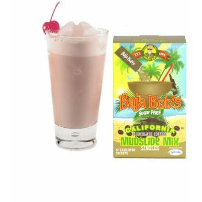 Baja Bob's Chocolate-Coffee Flavor Mudslide Cocktail Mix - Singles, Sugar Free & Low Carb