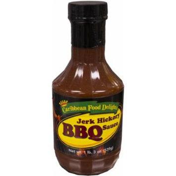 Jerk Hickory BBQ Sauce, 19 Oz, 2 Pack