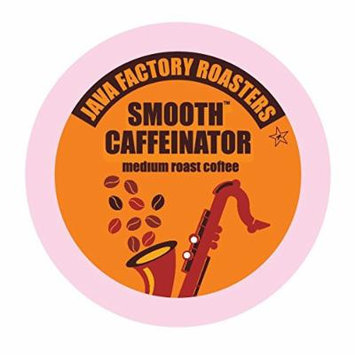 Java Factory Single Cup Coffee for Keurig K Cup Brewers, Smooth Caffeinator Medium Roast, 40 Count