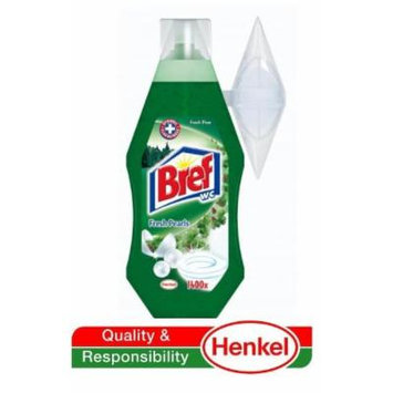 Bref by Henkel - Automatic Toilet Cleaning Gel (w/ Refillable Rim Basket) Pine Forest 360ml - 2 Count (2 x 1400 Flushes)