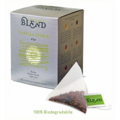 Vanilla Citrus Tea, 15-Count Individually Wrapped Pyramid Tea Bags