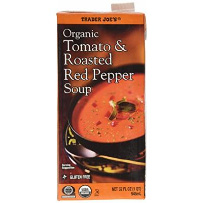 Trader Joe's Organic Tomato & Roasted Red Pepper Soup