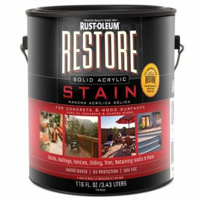 Restore 47053 1-Gallon Solid Acrylic Stain, Driftwood