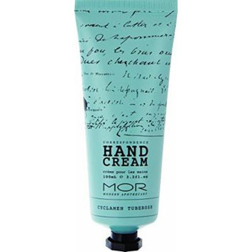 Mor Hand Cream, Cyclamen Tuberose, 3.1 Fluid Ounce