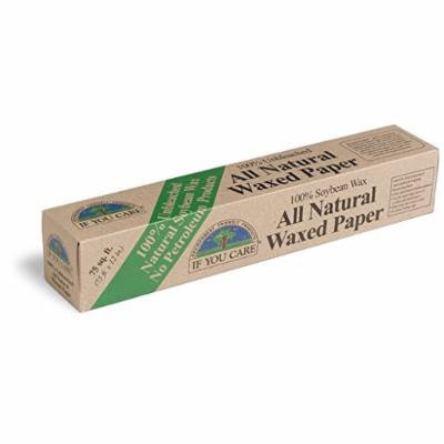 If You Care Wax Paper Unbleached 75 Sq Ft
