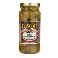 Boscoli Olive Onion Stuffed 16 oz (Pack Of 6)