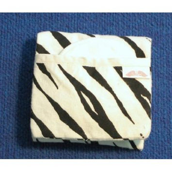NuAngel Flip and Go Nursing Pad Case - Zebra - Made in U.S.A.