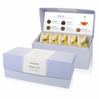 Tea Forté® DOLCE VITA Presentation Box Sampler with 20 Handcrafted Pyramid Tea Infusers - Indulgent Dessert Teas