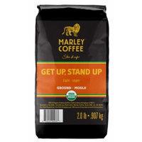 Marley Coffee, Organic Ground Coffee, Getup, Stand Up, 2 Pound