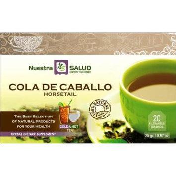 Cola De Caballo - Horsetail Herbal Filtered Tea 3 Pack