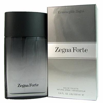 Ermenegildo Zegna Zegna forte Eau de Toilette Spray for Men, 3.4 Ounce