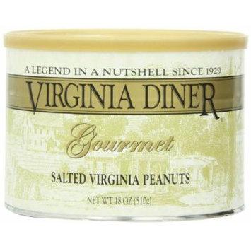 Virginia Diner Virginia Peanuts, Salted, 18-Ounce