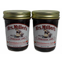 Bumbleberry Jam juicy blueberries, ripe red raspberries and fresh from the field strawberries 2 Jars 9 Oz