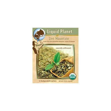 Liquid Planet Organic Tea Zen Mountain 50ct Individually Wrapped