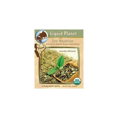 Liquid Planet Organic Tea Zen Mountain 50ct Individually Wrapped