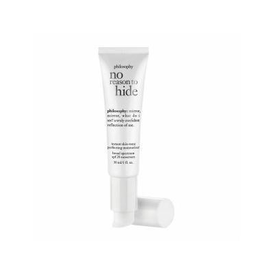 philosophy no reason to hide instant skin-tone perfecting moisturizer broad , medium 1 oz