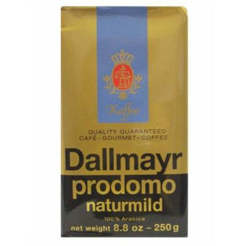 Dallmayr Ground Coffee, Mild, Natural, 8.8-Ounce (Pack of 4)