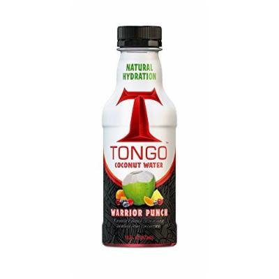 Tongo Coconut Water, Warrior Punch, 16-Ounce (Pack of 12)