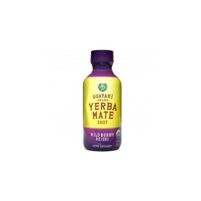Guayaki-yerba Mate Shot, Wild Berry Reishi 2 Oz-12 Pack