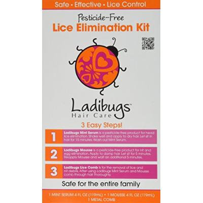 LADIBUGS HAIR BUG ELIMINATION KIT, 8 FO