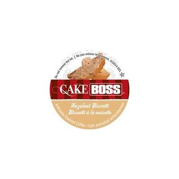 Cake Boss Coffee - Hazelnut Biscotti - 48 Single Serve K Cups for Keurig Brewers