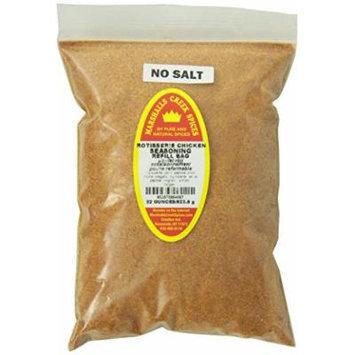 Marshalls Creek Spices Refill Pouch No Salt Rotisserie Chicken Seasoning, XL, 22 Ounce