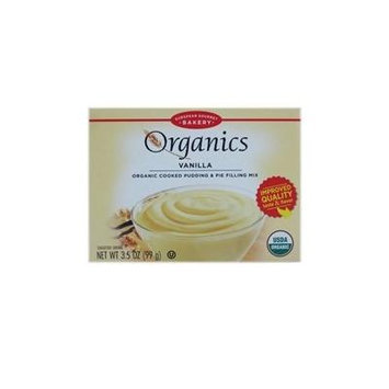 European Gourmet Bakery: Organics Vanilla Cooked Pudding & Pie Filling Mix (2 X 3.5 Oz)