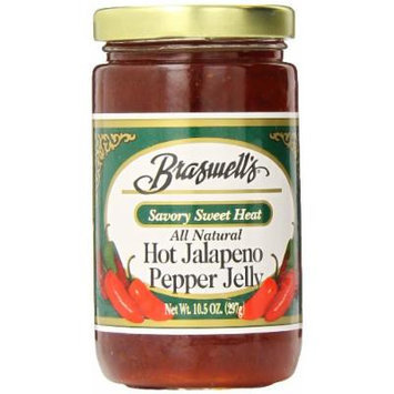 Braswell Pepper Jelly, Jalapeno, 10.5 Ounce (Pack of 6)
