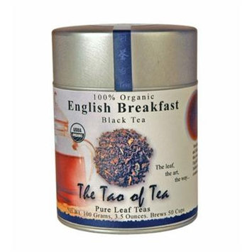 The Tao of Tea, English Breakfast Black Tea, Loose Leaf, 3.5-Ounce Tins (Pack of 3)