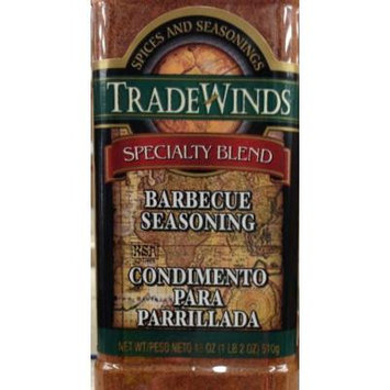 18oz Trade Winds Barbecue Seasoning Specialty Blend, Pack of 1